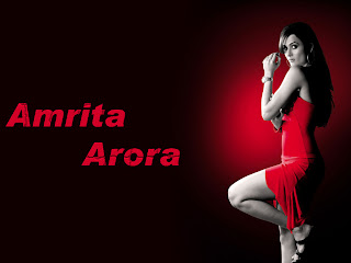 Sexy high heels Amrita Arora wallpaper from movie red