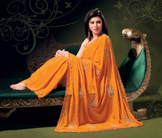 Indian Model in Saree