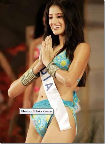 Swimsuit gallery of all Miss india navel show