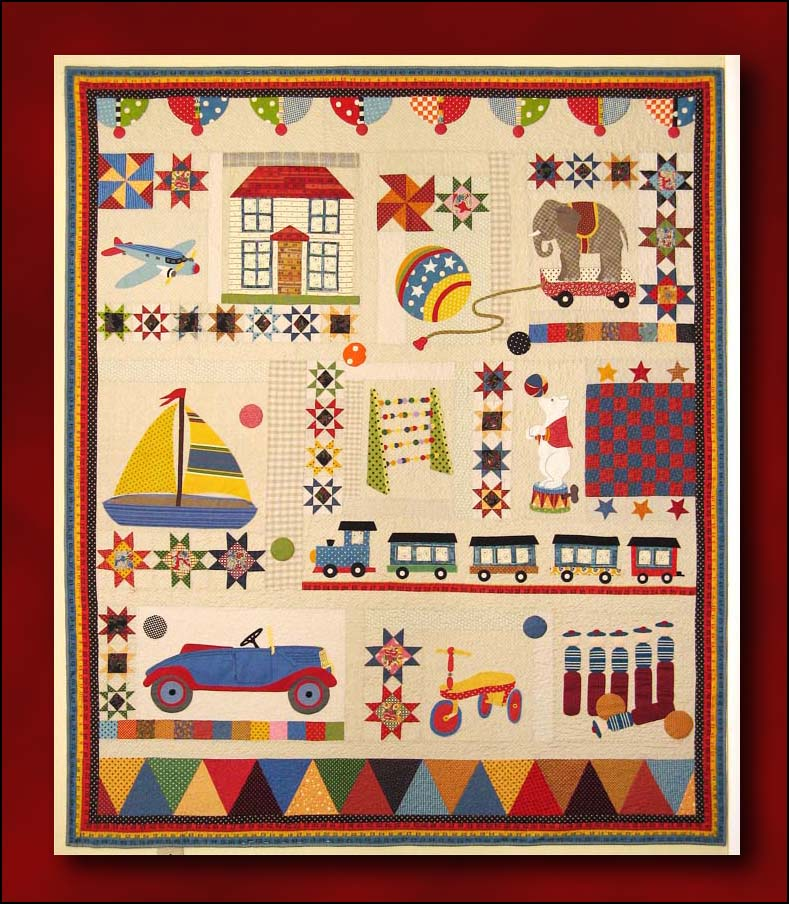 the playtime quilt by american
