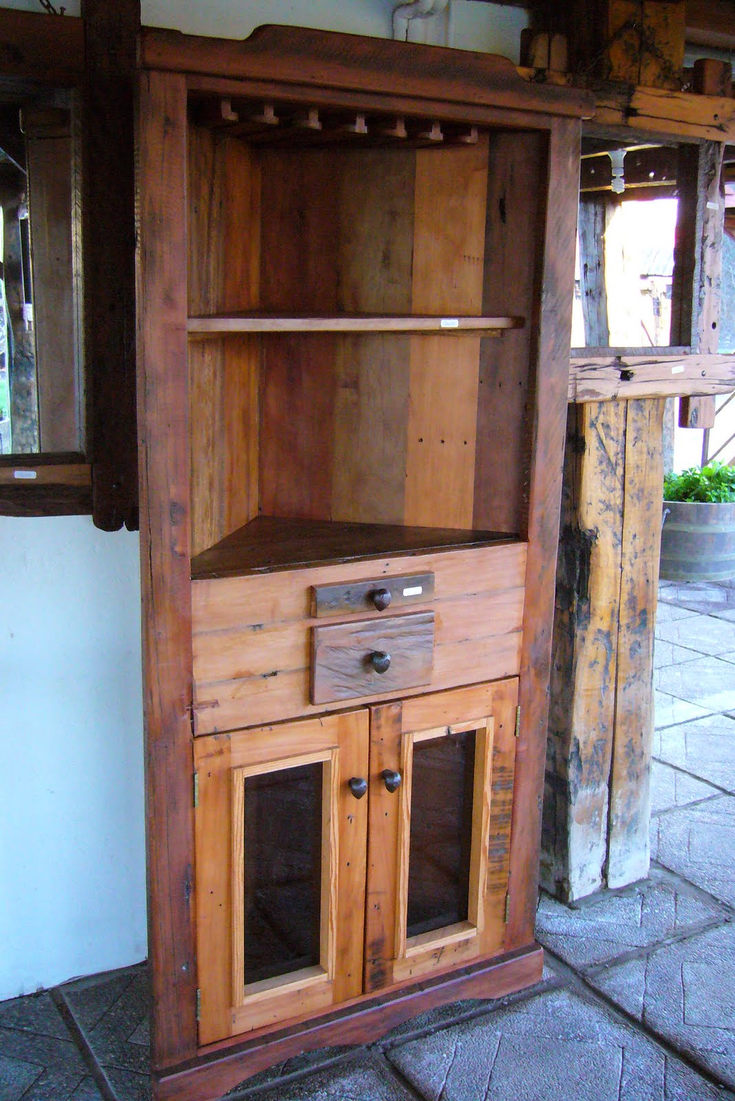 Muebles r sticos for Muebles rusticos de madera
