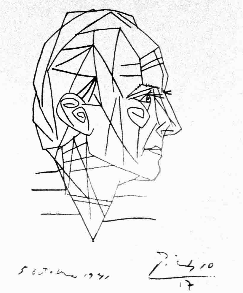 Line Drawing By Pablo Picasso : Picasso on pinterest pablo dora maar and