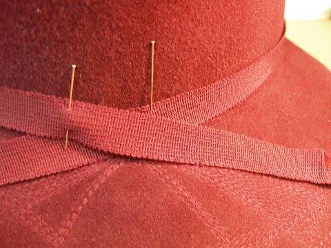 how to make hat curved
