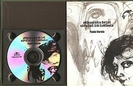 Poemario-CD - Tapa dura - encuadernado a mano