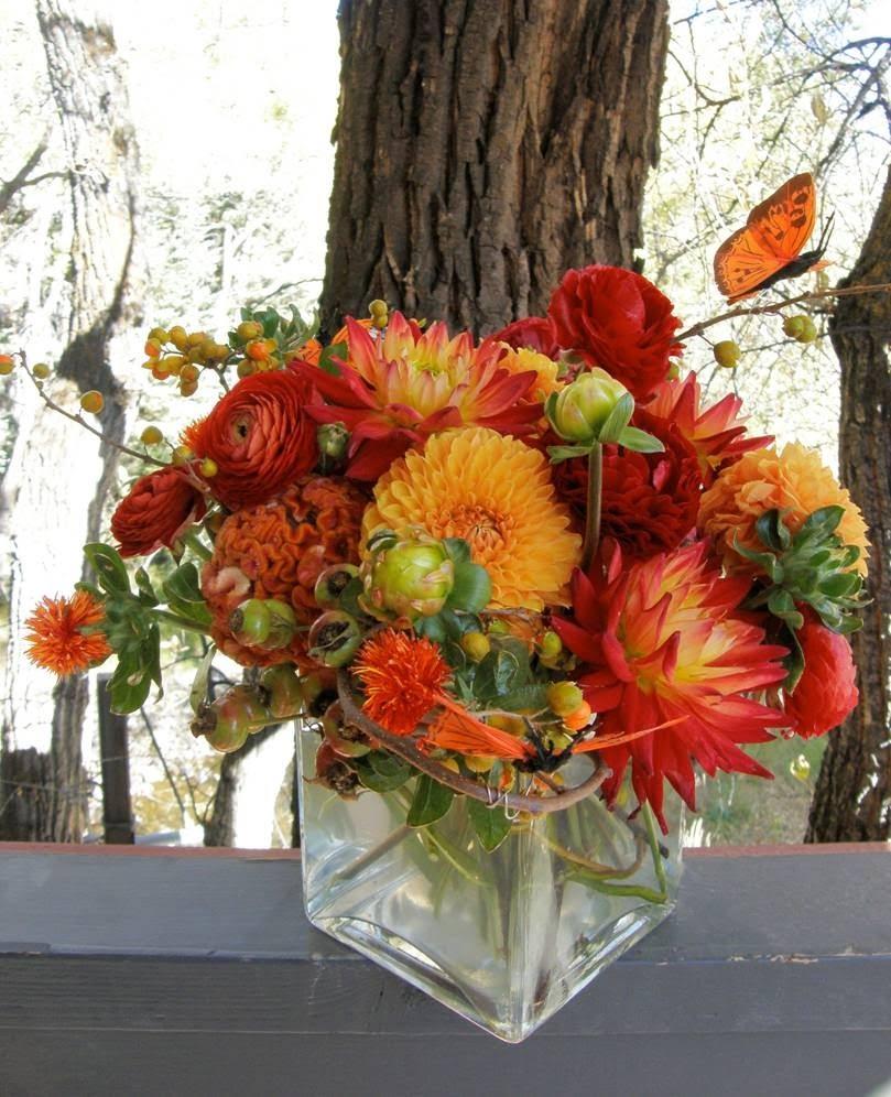 Mountain Flowers Of Aspen Fall Arrangements