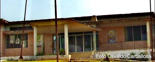 Vista de la puerta principal.