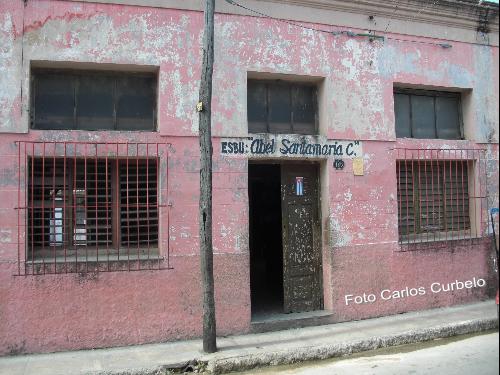 Secundaria Abel Santamaria. Libertad 188. Antes Colegio Maristas