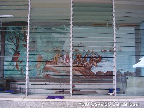 La Direccion y Pintura del Desembarco de Colon