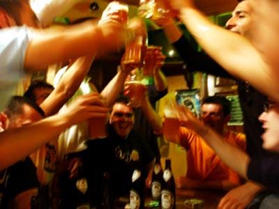 La recepción del alcohol después de kolme
