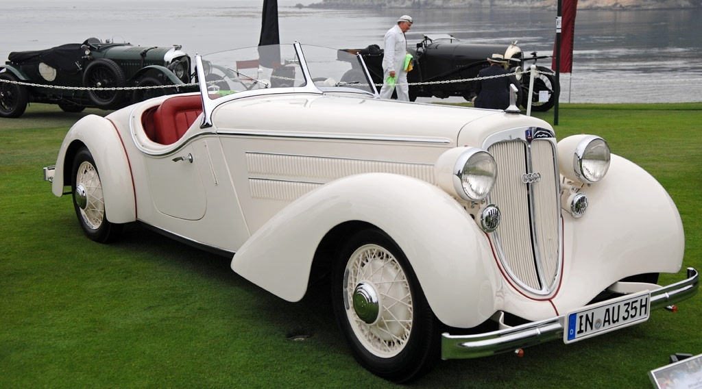 Your Old Car First Audi Car The 1935 Audi Type 225