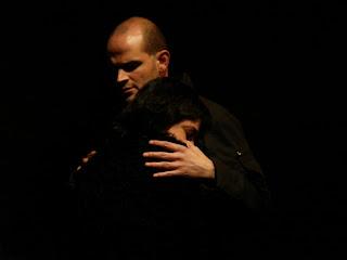 Fotografía de Olga Goded y Carlos Galindos interpretando Yerma y Juan