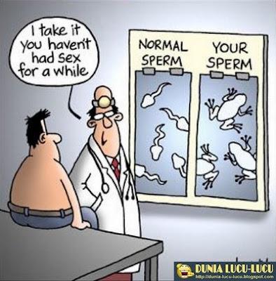 Seputar Sperma Lucu-Lucu