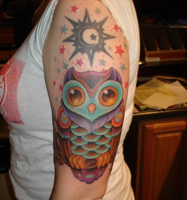 Tattoo Burung Hantu