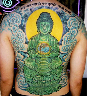 Big Buddha Tattoo Designs