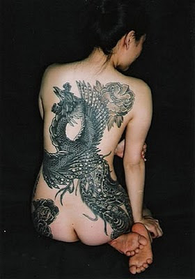 Tattoo Burung Merak - Phoenix Tattoo