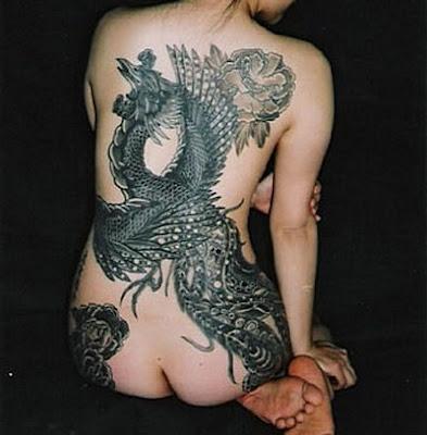 Tattoo Jepang Wanita - Japanese Tattoo