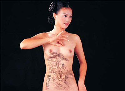 Gallery Body Painting On Womens Body