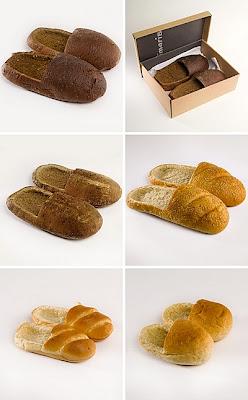Foto Lucu - Sepatu Berbentuk Roti