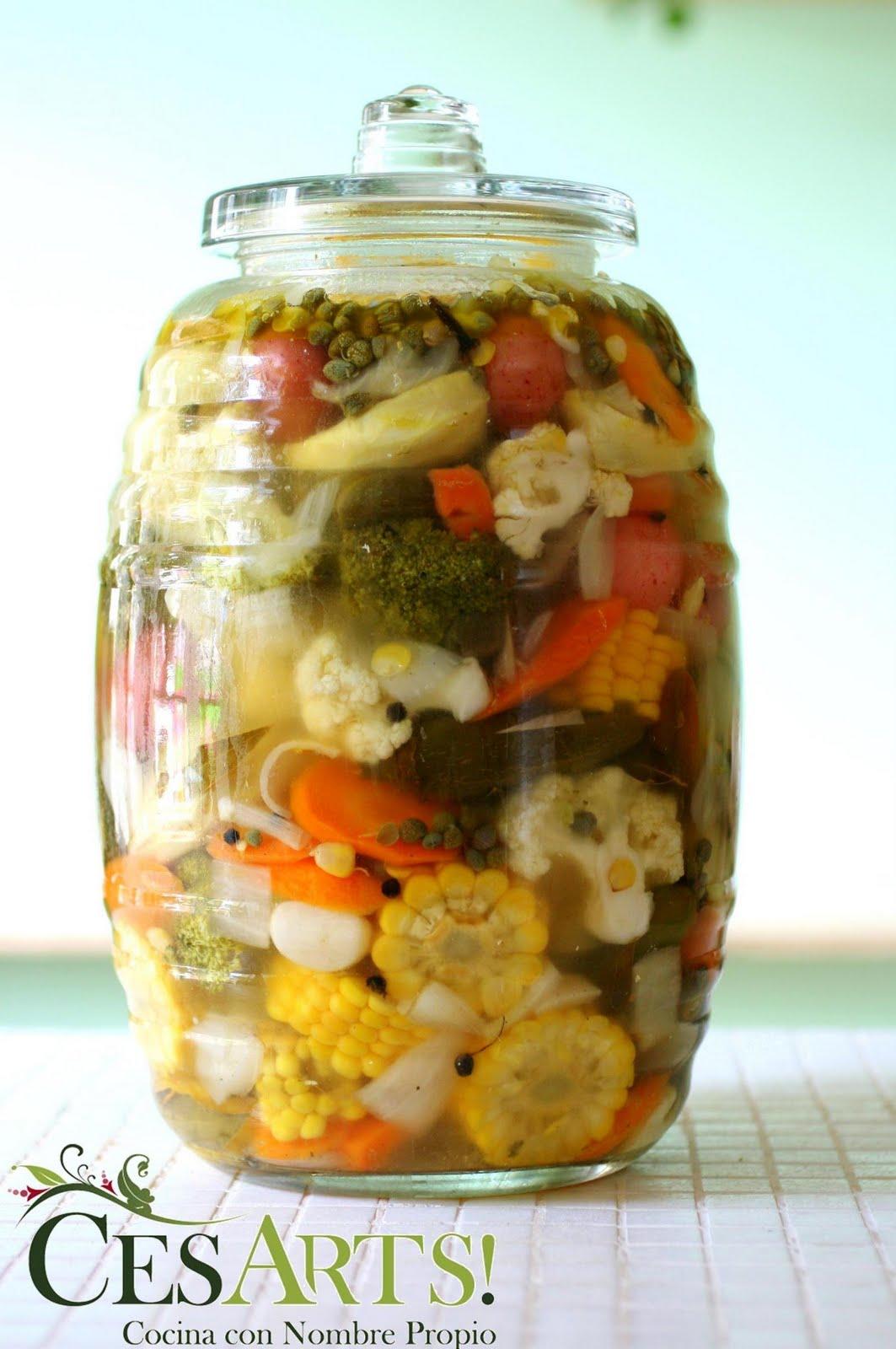 Cesarts sencillas recetas - Encurtido de zanahoria ...
