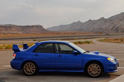 STi in desert