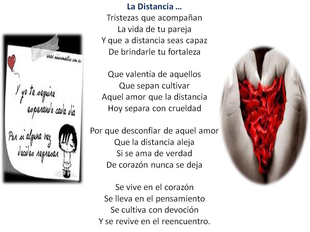 Poemas del amor a distancia