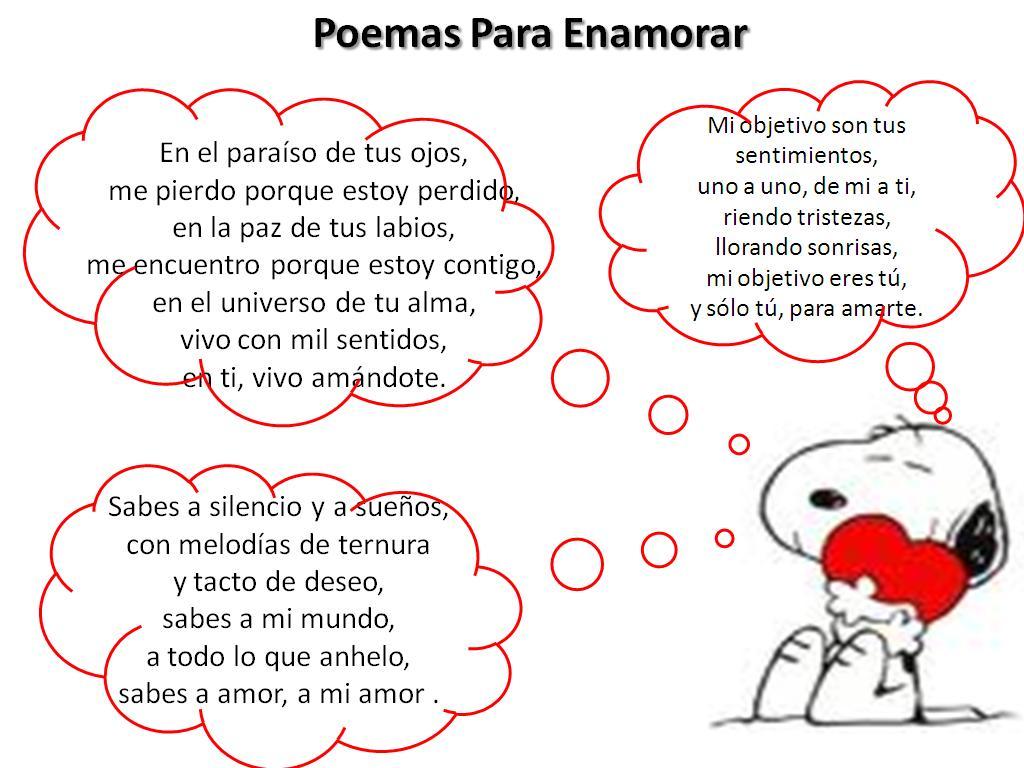Poemas romanticos cortos - Palabras para.