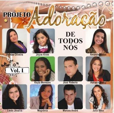 Various Artists - Adoração de Todos Nós - Vol. 01 (2010)