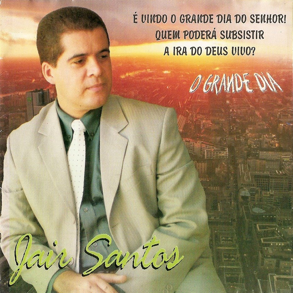 Download CD Jair Santos   O Grande Dia (Voz e Playback)