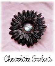 "4"" Chocolate Gerbera"