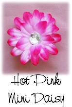"""2"""" Hot Pink Mini Daisy"""