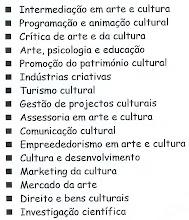 Estudos Artísticos e Culturais | Um Curso Inovador!