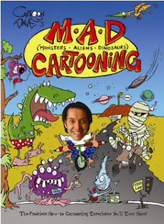 Book Cover: M.A.D. Cartooning by Dave Hackett