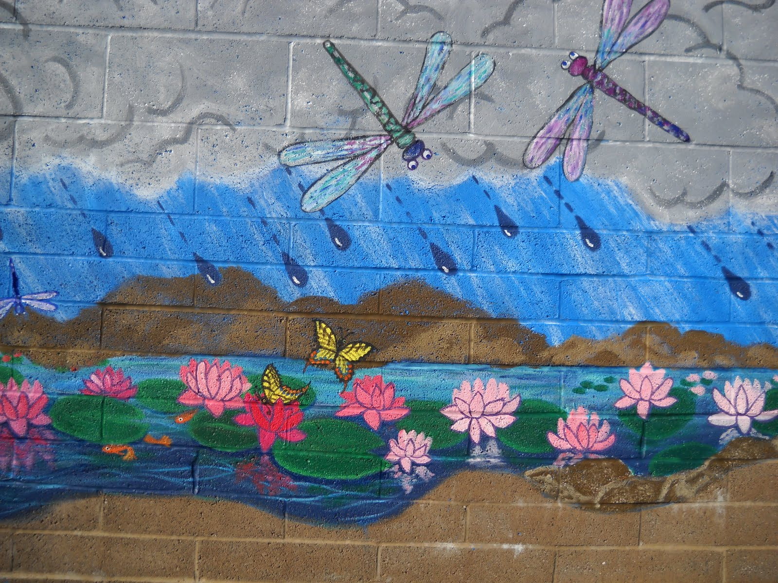 Murals by juli ann mural examples for Mural examples