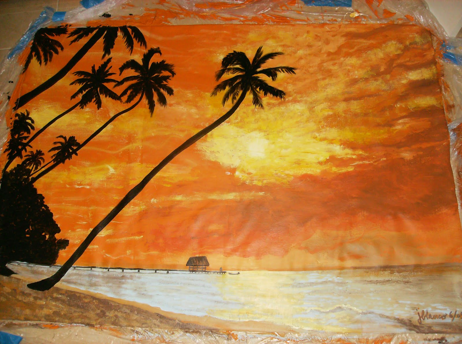 Murals by juli ann mural examples for Examples of mural painting
