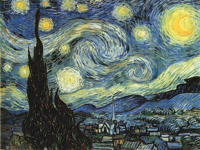 """La noche estrellada"""