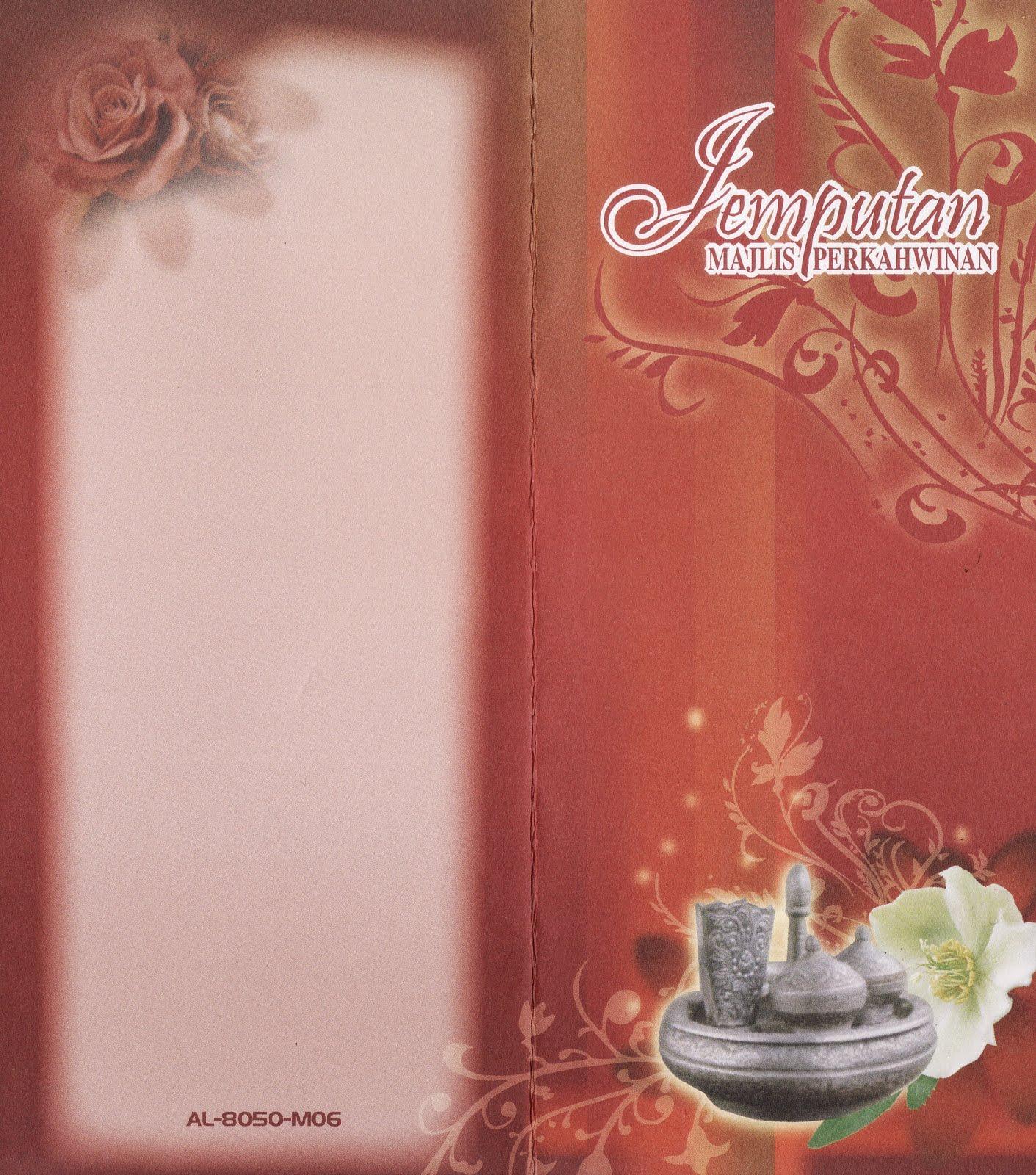 Background Kad Jemputan | Joy Studio Design Gallery - Best Design