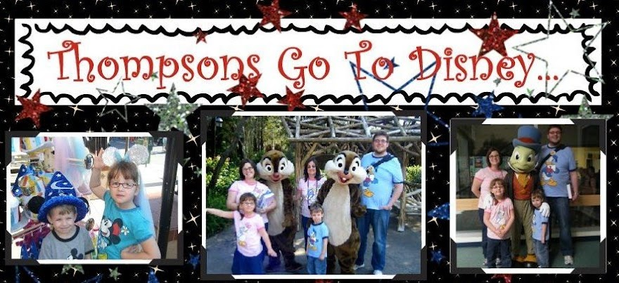Thompsons Go To Disney