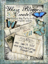 Dearest Karen Valentine is having her second Where Bloggers Create Party!!!