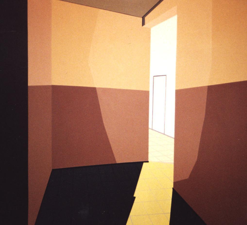 [Carina+Traberg,+Corridor+with+Light,+acrylic+on+canvas,+110x100cm,+2002]