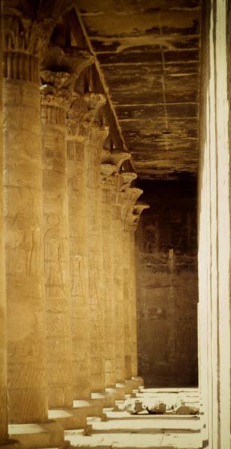 Columnas del Templo de Edfu