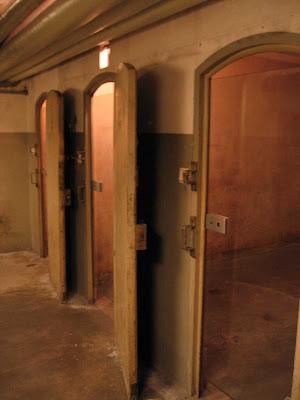 Celdas de prisioneros en la DE-Haus de Colonia