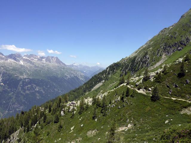 Camino Henri Vallot en Chamonix