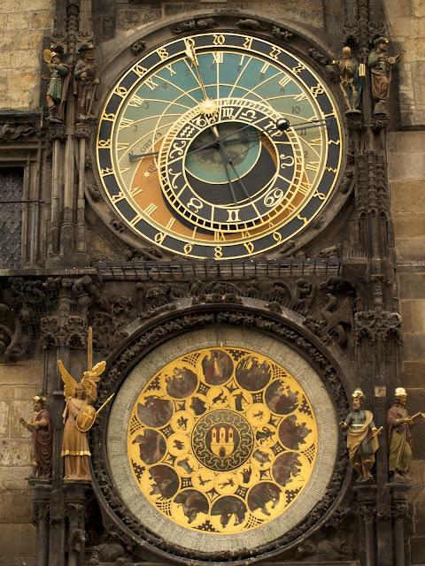 Reloj astronómico de la Ciudad Vieja de Praga