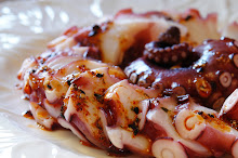 Octopus Sashimi w/Chili Sesame Oil