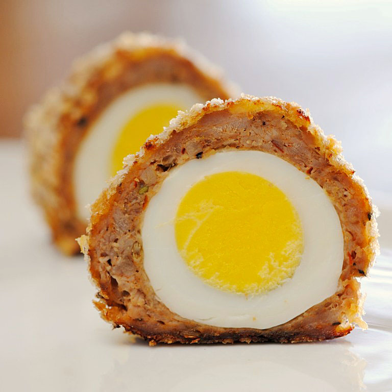 JULES FOOD...: Scotch Eggs...Not Scottish at all...