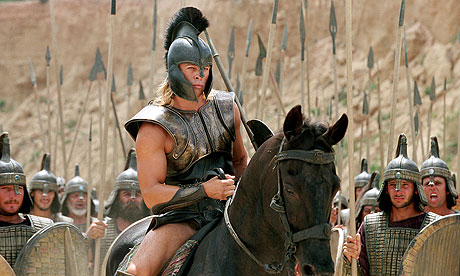 brad pitt in troy as achilles