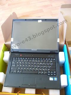 Экран ноутбука Lenovo E43 защищен пленкой