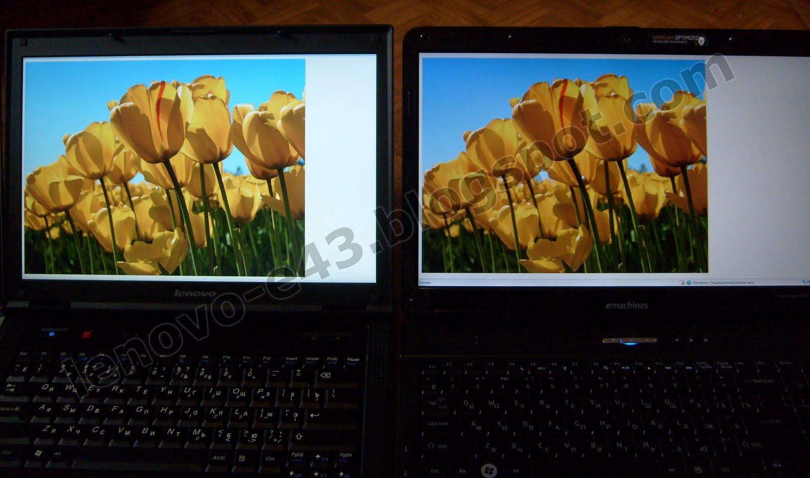 Сравнение ноутбуков acer emachines e525