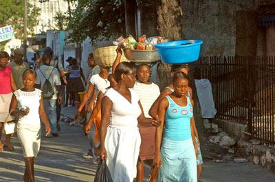 Caravana ao Haiti, julho de 2007 / Agência Cromafoto