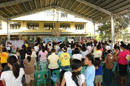 Brgy. Payatas Supports Balik Baterya TB Campaign